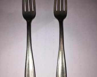 2 vintage Alaska forks