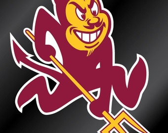 ASU Sundevils Vinyl Decal Sticker