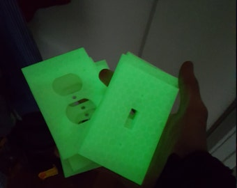 Glow-in-the-Dark Light and Outlet Covers