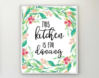 Kitchen art Etsy