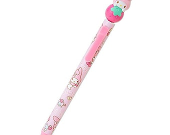 My Melody Mascot Ballpoint Pen (Strawberry)
