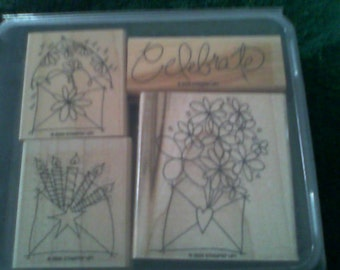 Rubber Stamps. New. Stampin' Up! Celebrate..