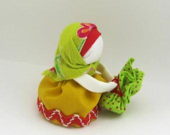Ukrainian Doll,ukrainian motanka,folk doll,souvenir,talisman, motanka charm Podorozhnitsa
