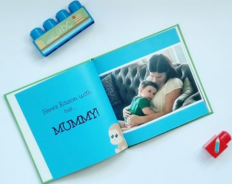 Personalised Name Book (6x6 SCRUNCH-PROOF)