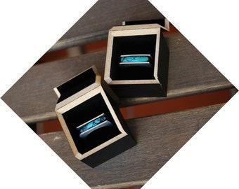 Turquoise and silver ring · Natural Turquoise silver ring