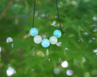 glass bead choker