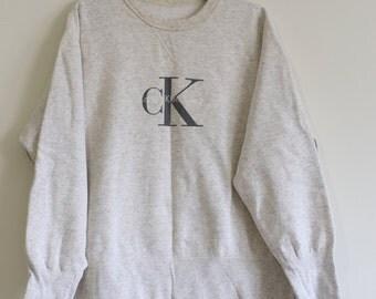 Vintage 90's Calvin Klein Sweater Size Medium