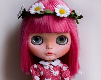 April - OOAK Custom Blythe doll by Mishidollies