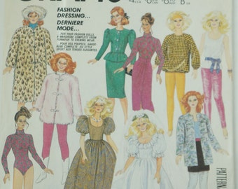 "Vintage McCall's pattern 2686 for 11 1/2"" dolls Doll Clothes Package"