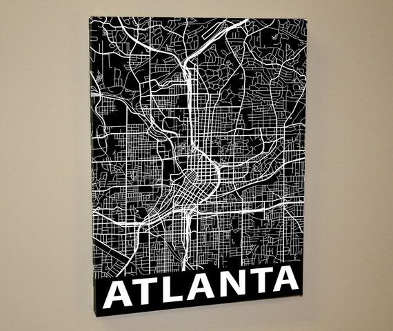 Street map Atlanta Georgia