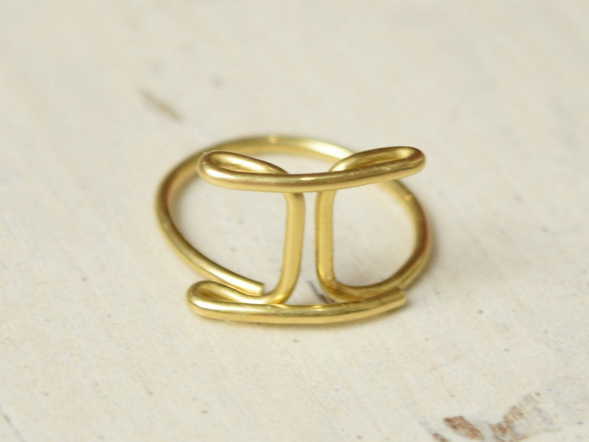 The Twins Ring Gemini Ring Zodiac Ring Midi Knuckle Rings. Black Bands. Bracelet Bangles. Plain Gold Wedding Band. Yellow Sapphire Pendant. Feather Necklace. Woven Bands. Leather Bangle. Flower Cut Diamond