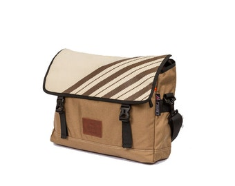 Brown - Maato Silt Messenger Bag / Satchel / Shoulder Bag / Hipster Bags