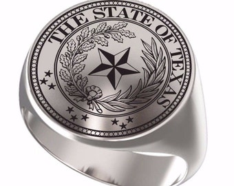 Texas State Seal Rings