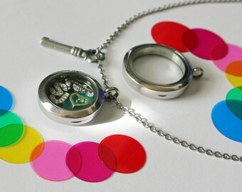 MEDIUM 25mm, Memory Locket, Locket Lenz, Colorful Lenses, Memory Locket Lenses