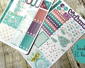 Planner Stickers - Weekly Planner stickers - Erin Condren Life Planner - Happy Planner - Christmas Planner Stickers- Christmas stickers