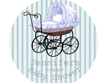Baby Shower Stickers Favor Labels Personalized Baby Shower Tags Personalized Boy  Gift Stickers Baby Boy Baby Shower Favor Tags