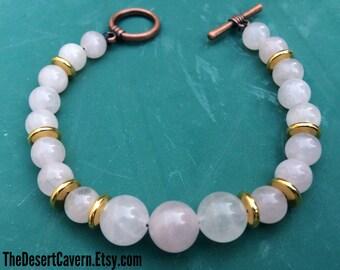 Hathor Rose Quartz Bracelet
