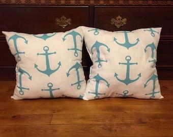 Decorative Anchor Pillows