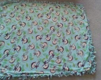 Baby Monkey Blanket