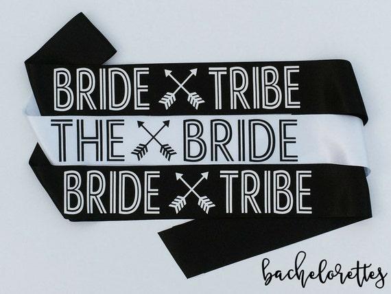 Bride Tribe Bachelorette Sashes