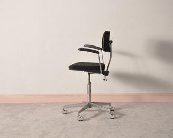 DANISH RETRO swivel desk chair by LABOFA , 1960'S