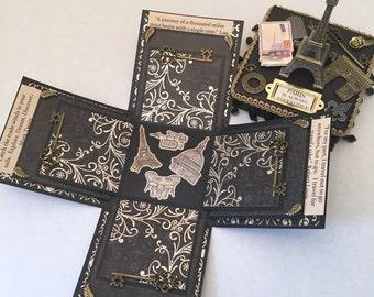 Paris Memory Scrapbox