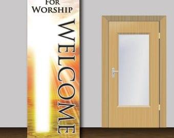 Welcome Church Banner - 1003