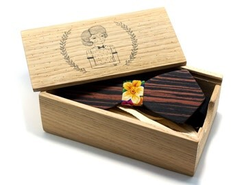 Gift box for bowtie. Free shipping worldwide!