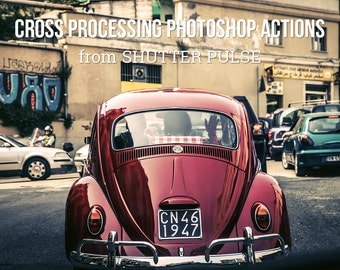 Cross Processing Photoshop Actions - Adobe Photoshop Actions