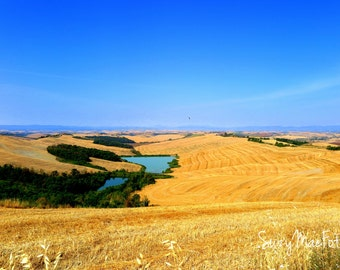 The Pool in the Crete Senesi