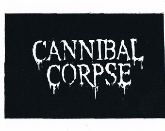 Cannibal Corpse Metal Band Patch Punk Patches