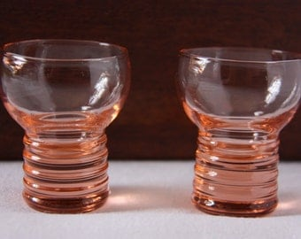 Vintage Shot Glasses, Mid-century shot glasses, retro shot glasses, shot glasses