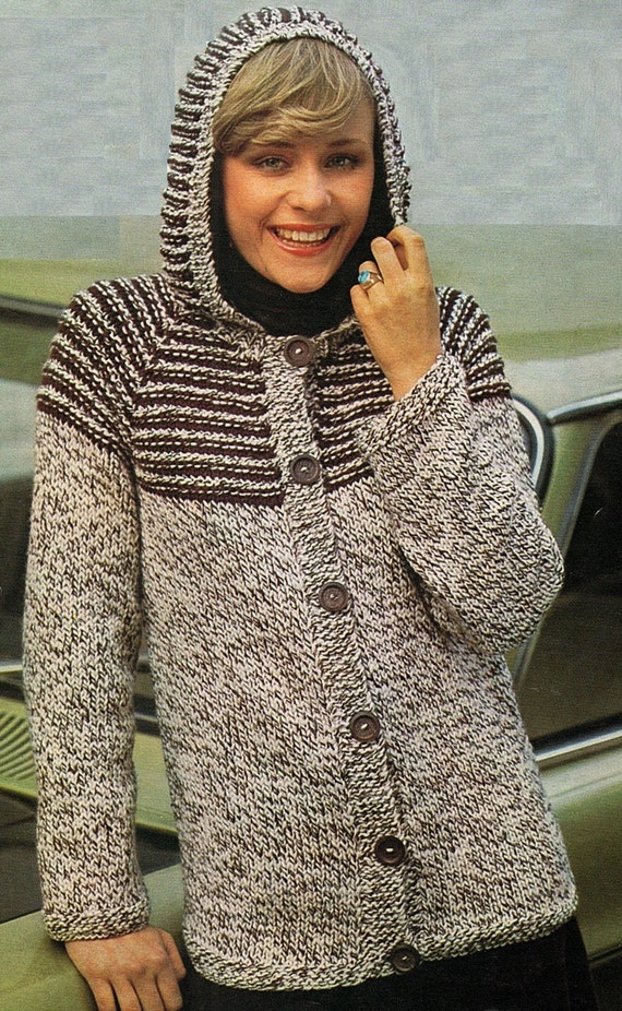 Knitting Without Needles Pdf : Jacket with without hood knitting pattern pdf instant