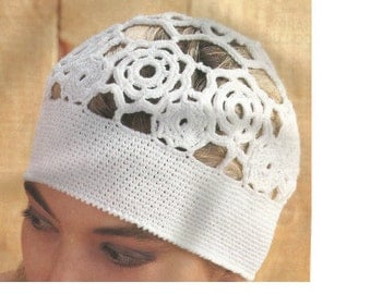 Vintage Hat PDF Crochet Pattern INSTANT DOWNLOAD