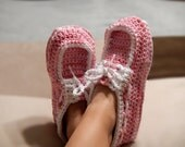 Women's Crochet Slippers | Loafers | Comfortable | 100% Cotton