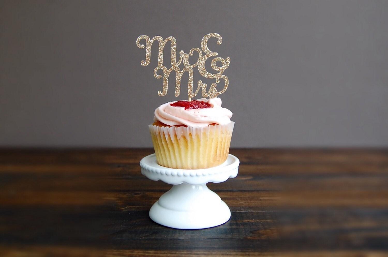 Cupcake Toppers Wedding Wedding Cupcake Toppers Bridal