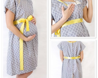 Fashionable Maternity Hospital Gown