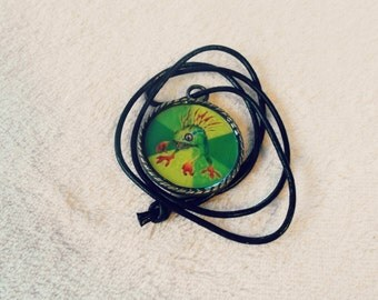 World of Warcraft Murloc Inspired Pendant Necklace