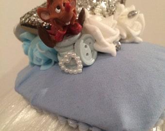 Disney cinderella headdress fascinator