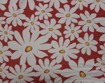 Floral Print Lycra/Spandex 4 way stretch Matt Finish Fabric