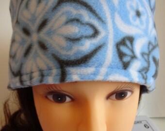 Fleece Powder Blue Hat