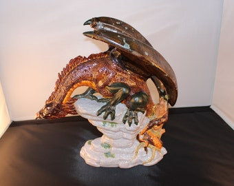 Copper Adventurine Dragon