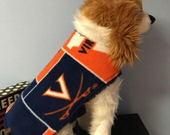 UVA dog coat size Xsmall