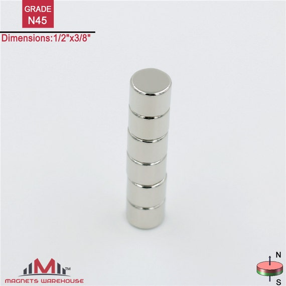 6 ct free shipping quality small round craft neodymium for Small round magnets crafts
