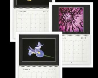 12 Month Wall Calendar - Botanical