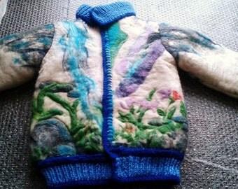 """Children's winter coat """"Trickle"""""""