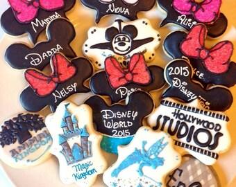 Going To Disney cookies