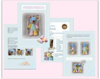 Crochet Teddy Bear PATTERN PDF