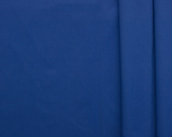 Lake country - with a breathable polyurethane coating color: Royal Blue - 0.5 m