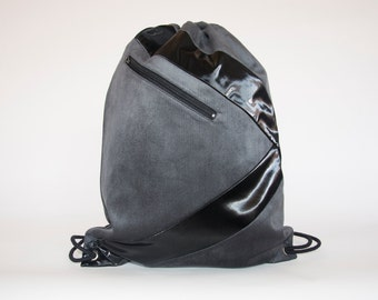 Modern Laptop Backpack,Minimal Vegan Large 15inch Laptop Bag